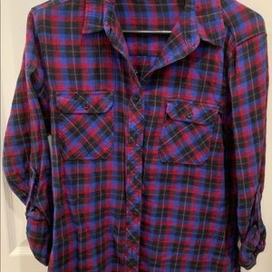 Urban Outfitters Plaid Flannel, Size: M